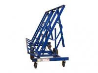 Plokščių vežimėlis stalas