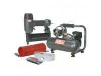 Orinis vinių kalimo įrankis su kompresoriumi SENCO Finish Pro 18 & Compressor Kit